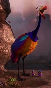 walt disney pixar movie kevin bird window cling decal