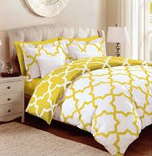 max studio lattice quatrefoil pattern full queen duvet cover and