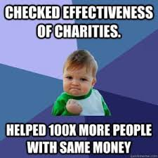 Charity Meme - what is high impact charity students for high impact charity