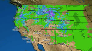 Map Of West Los Angeles by Rain And Mountain Snow Returned To California Southwest The