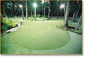 backyard putting green lighting backyard golf kingwood texas offers custom putting green