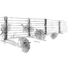 tumbleweed fence 1204l beeswax rubber stamps