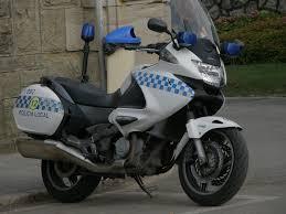 honda deauville honda deauville policia local santander fridonia flickr
