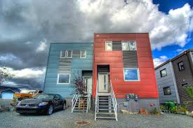 High Efficiency Homes Prefab Moyle Duplex In Yellowknife Comprises A Set Of Super Energy