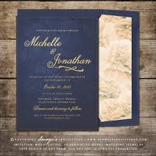 navy wedding invitations navy blue and gold wedding invitation glitter wedding invitation