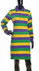 mardi gras polo shirt the traditional mardi gras striped polo shirt dress poree s