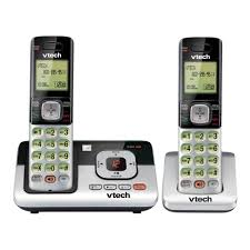 vtech cs6649 dect 6 0 expandable corded cordless phone with