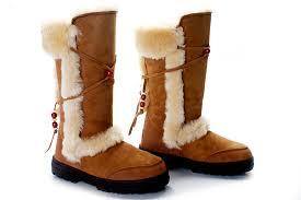 ugg s nightfall boots ugg bronw nightfall 5359 zipper on back boots collection