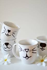 54 best tassen diy images on pinterest dishes sharpies and diy mugs