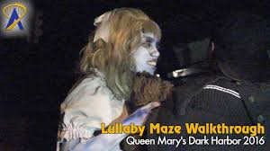 lullaby full maze at queen mary dark harbor 2016 youtube