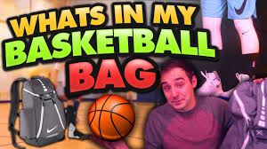 basketball halloween basket whats in my basketball bag why do you wear all that gear youtube