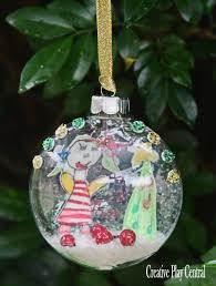 keepsake ornament created by kids handmade art for christmas a