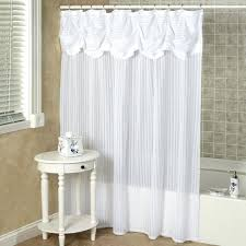 shower curtains with valance and tiebacks bathroom tie back shower curtains with valance and tiebacks shower