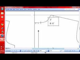 shirt pattern cutting pdf 7 pattern making how to make a t shirt pattern drafting neckband