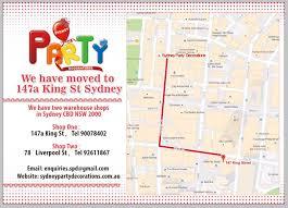 sydney party decorations