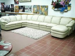 Sofa Sectionals Leather by Best 13 Amazing Extra Long Sectional Sofa Picture Ideas
