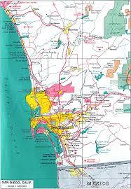 Cal Map San Diego City Map San Diego U2022 Mappery