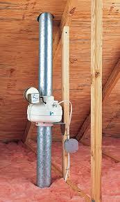 In Line Exhaust Fan Bathroom When Dryer Vents Need A Boost Fine Homebuilding