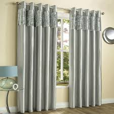 Curtains Ring Top Velvet Curtains Grey Crushed Velvet Fully Lined Ring Top Curtains