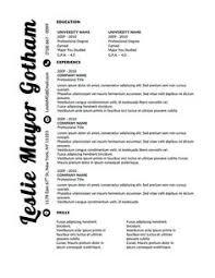 www originalresumedesign com vertigo resume template features a