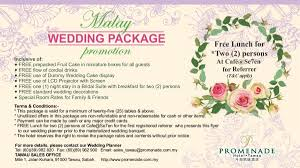 wedding planner packages wedding packages summit hotel subang usj add to board one stop