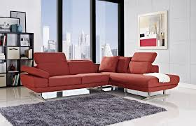 red sectional couch blood red sectional sofa for living room 3
