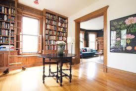 Bookshelves Library The Built In Library Shelves With Books Making It Lovely