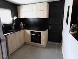 cuisine en chene moderne cuisine en chaane sabla et noir atdeco collection et cuisine en