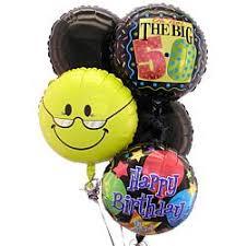 50th birthday balloons happy 50th birthday 5 balloon bouquet findgift