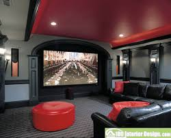 living room decor black and red interior design