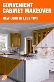 kitchen cabinet refacing at home depot transform your kitchen with a cabinet makeover from the home