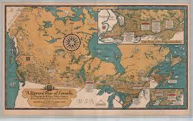deacon u0027s literary map of canada 1936