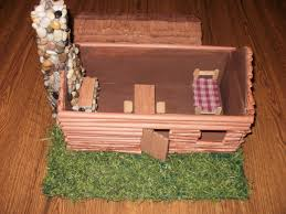 model log cabin for 3rd grade social studies project projects