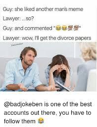 Divorce Guy Meme - 25 best memes about lawyer lawyer memes