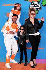 kid s mariah carey and nick cannon take twins to kids choice awards