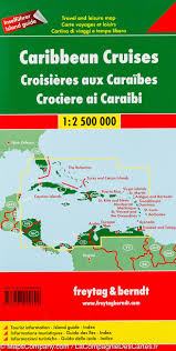 Map Of Cayman Islands Map Of Caraïbes Cruises Freytag U0026 Berndt U2013 Mapscompany