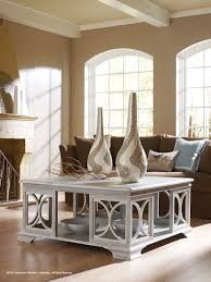 transitional style coffee table low country luxe sea island coffee table habersham home