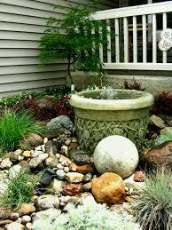 Different Garden Ideas Front Yard Rock Garden Ideas Best Idea Livingroom Design Modern