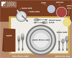 how to set a dinner table correctly how to set a table for dinner correctly elegant 15 perfect images