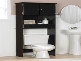 Bamboo Wall Cabinet Bathroom Bathroom Cabinets Wooden Space Saver Over Toilet Cabinet Using