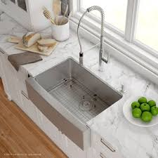 24 inch stainless farmhouse sink apron front kitchen sinks attractive farmhouse you ll love wayfair