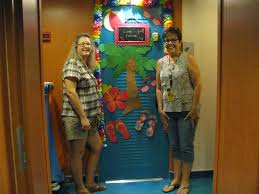 Cruise Door Decoration Ideas The Adventure Begins Get Closer To The Ocean Day 1
