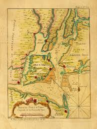 Maps Of New York by Map Of New York Bay And Harbor By Bellin 1764 Battlemaps Us