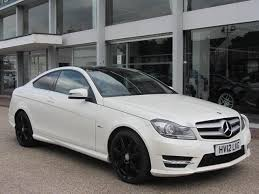 used mercedes coupe used mercedes car 2012 white diesel class c220 cdi