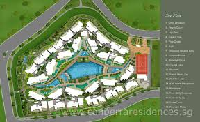 Condominium Plans Canberra Residences Condo Singapore