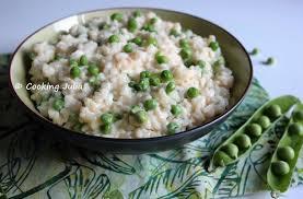 cuisiner des petit pois frais cooking risotto printanier aux petits pois