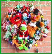 thanksgiving muppets irish u0027s wreaths where the difference is in the details