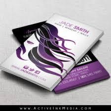 ace card hair stylist salon business card template active ink