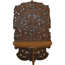 indian wooden wall indian wooden wall shelf vintage shelves carved