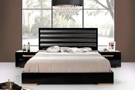 Modern Black Bedroom Sets Nova Domus Romeo Italian Modern Black U0026 Rosegold Bedroom Set